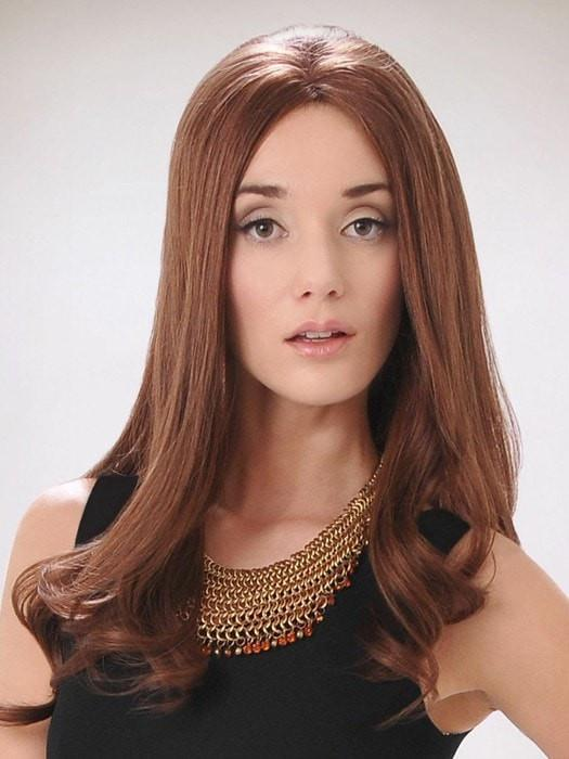 AMBER HAND TIED by Wig Pro in 33 | DARK AUBURN