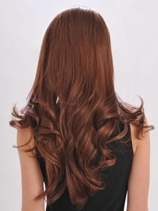 Add curls, flat iron it straight, or wear it in an updo!