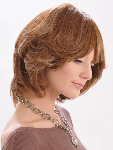 Have your stylist cut and trim this wig to fit your face shape |  | Color: Honey Amber