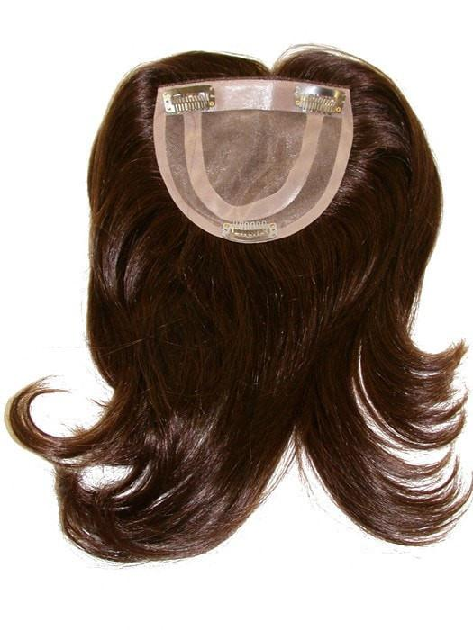 Mono Top-H | Human Hair Topper (Hand-Tied)
