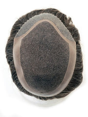 Men's System 6 x 9 | Human Hair Topper (Hand-Tied)