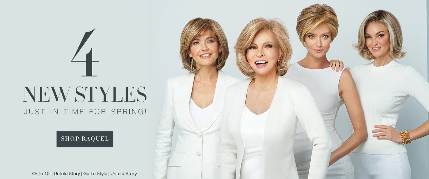 5 NEW Fall Wigs by Raquel Welch | Shop Now