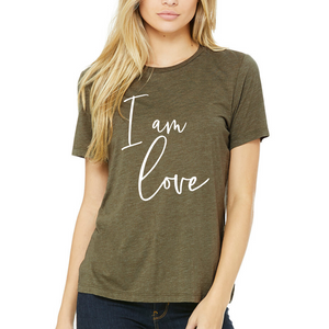 I Am Love, Cursive - Tee