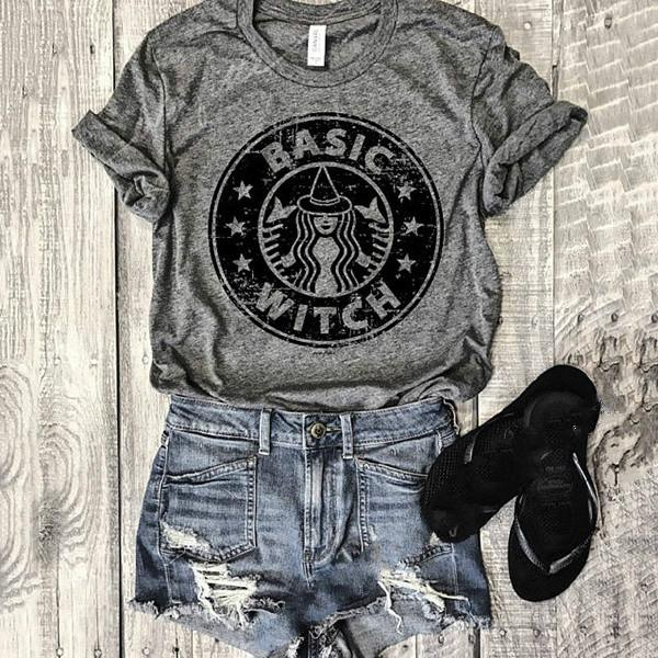 Basic Witch Starbucks Tee