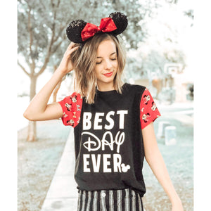 Best Day Ever - Sleeved - Girls Tee
