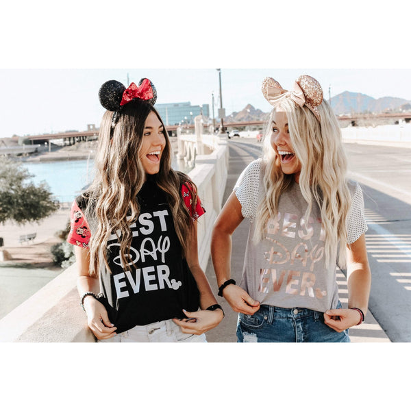 Best Day Ever - Sleeved - Womens Tee
