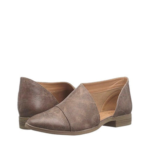 Charlotte - Cut Out Booties - Nutmeg - Womens