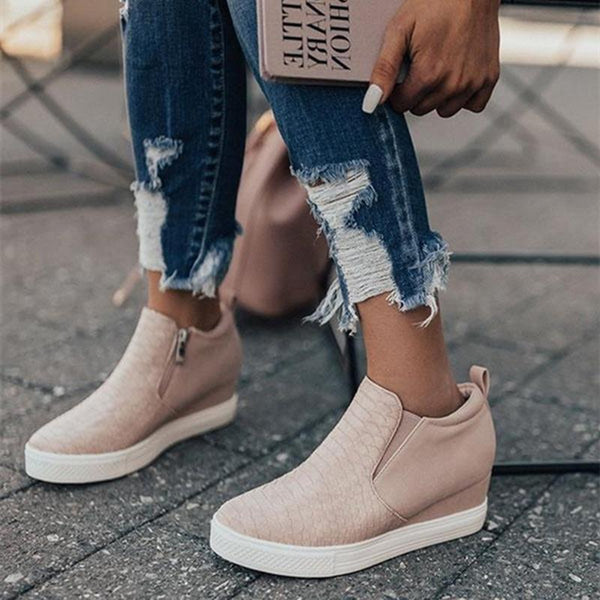 Chelsea Wedge Sneakers