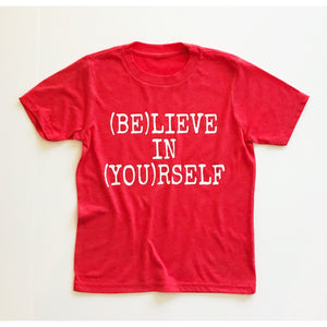 Club Dance - Believe in Yourself - Kids Tee