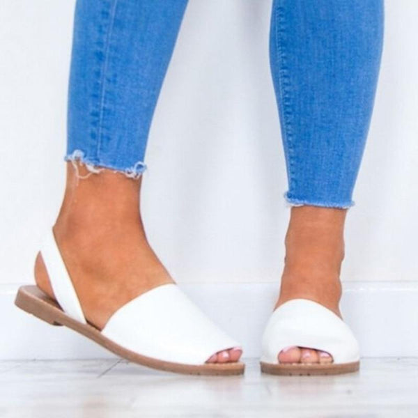 Delaney Peep Toe Sandals