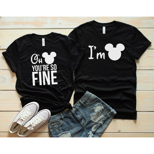 Disney Couples Tees