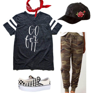 Go For It - Womens Tee