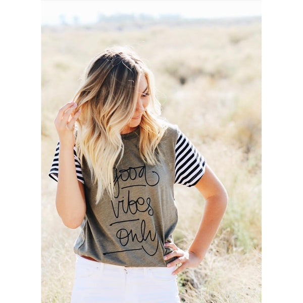 Good Vibes Only - Womens Tee