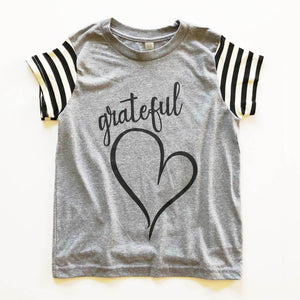 Grateful Heart - Girls Tee