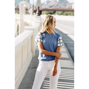 Hartley Blue - Womens Tee