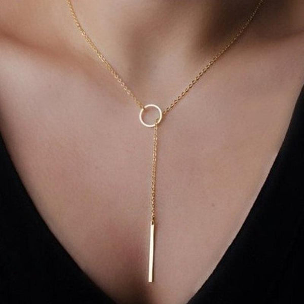 Henley Gold Pendant Necklace
