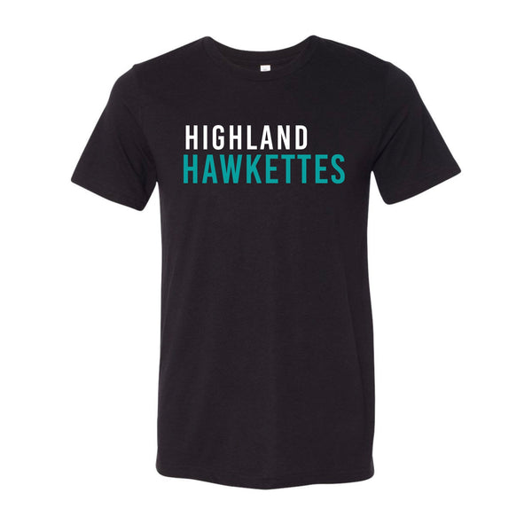 Highland Hawkettes - Adults Tee