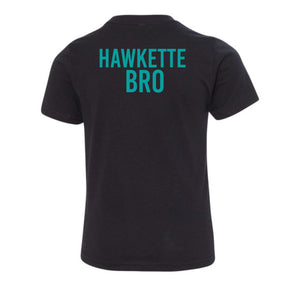 Highland Hawkettes - Block - Kids Tee