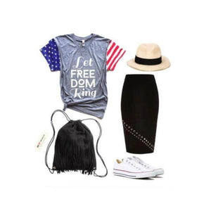 Let Freedom Ring - Womens Tee
