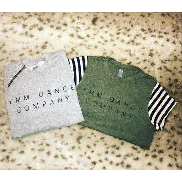 YMM Dance Company - Olive - Girls Tee