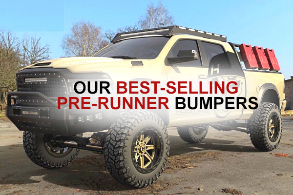 Our Best-selling Pre-runner Bumpers