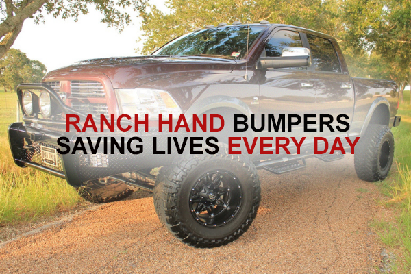 Ranch Hand Bumpers - Saving lives every day