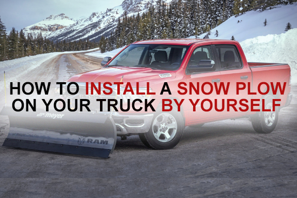 How to Install a Snow Plow on your truck by yourself