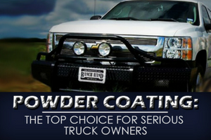 Powder coating: the top choice for serious truck owners
