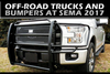 Off-Road Trucks and Bumpers at SEMA 2017