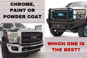 Chrome, Paint or Powder Coat, Which one is the best?