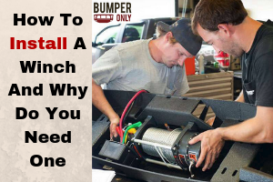How To Install A Winch And Why Do You Need One