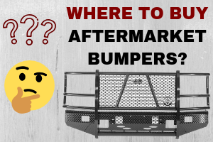 How Thick Should Off Road Truck Bumpers Be?