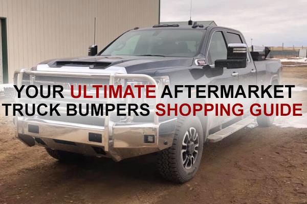 Your Ultimate Aftermarket Truck Bumpers Shopping Guide