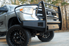 FAB FOURS BLACK STEEL ELITE TOYOTA TUNDRA FRONT BUMPERS