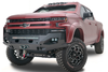 Fab Fours Matrix Chevy Silverado 2500 Front Bumpers