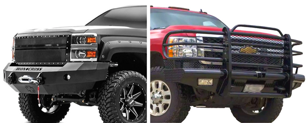 Tough Country Traditional Front Bumper Chevy Silverado 2500/3500 2003-2007 TFR0215CLRESM