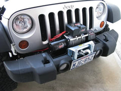 Bumper Mounted Winch