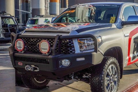 Off-Road Trucks and Bumpers at SEMA 2017 Manufacturing
