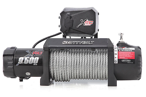 Smittybilt 97495 9.5k Gen2 XRC Winch Waterproof