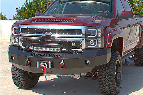 Iron Cross 2003-2006 Chevy Silverado 2500/3500 HD Front Bumper 22-525-03 Winch Ready Push Bar