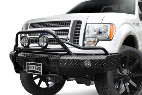 Ranch Hand BSF111BL1 2011-2016 Ford F250/F350/F450/F550 Superduty Summit BullNose Series Front Bumper