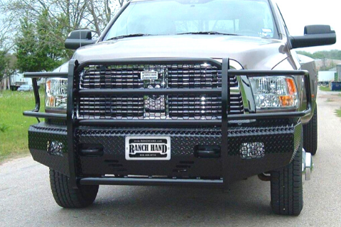 Ranch Hand FSD101BL1S 2010-2018 Dodge Ram 2500/3500 Summit Series Front Bumper With Sensors