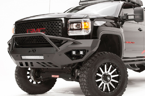 Fab Fours GC15-D3452-1 GMC Canyon 2015-2019 Vengeance Front Bumper with Pre-Runner Guard