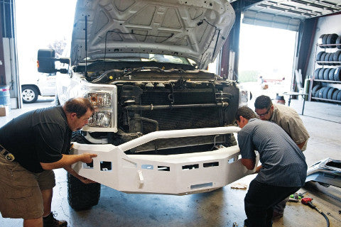 From Mind to Matter: How Custom Off-Road Bumpers Are Made Manufacturing