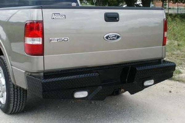 Frontier 100-10-6013 Diamond Ford F150 2006 - 2008 Rear Bumper - BumperOnly