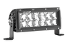 "Rigid 106313 E-Series PRO Light Bar 6"" Spot/Flood Combo Black"