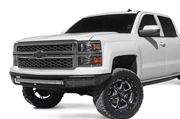 Rogue Racing 2014+ CHEVY 1500 REBEL Front Bumper 111514-91-03-MS - BumperOnly