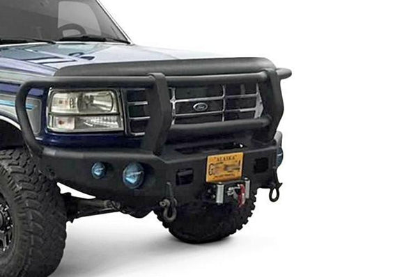 TrailReady PN12100G  Front Bumper Ford F250/F350 Superduty 1992-1998 Winch Ready with Full Guard