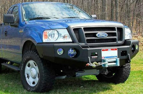 TrailReady 12200B Ford F250/F350 Superduty 1997-1998 Extreme Duty Front Bumper Winch Ready Base - BumperOnly