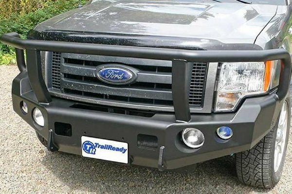 TrailReady 12200G Ford F150 1997-1998 Extreme Duty Front Bumper Winch Ready with Full Guard - BumperOnly